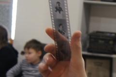 исторический негатив с фотографиями Ю.А.Гагарина